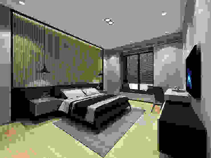 臥室3 根據 竹村空間 Zhucun Design 現代風