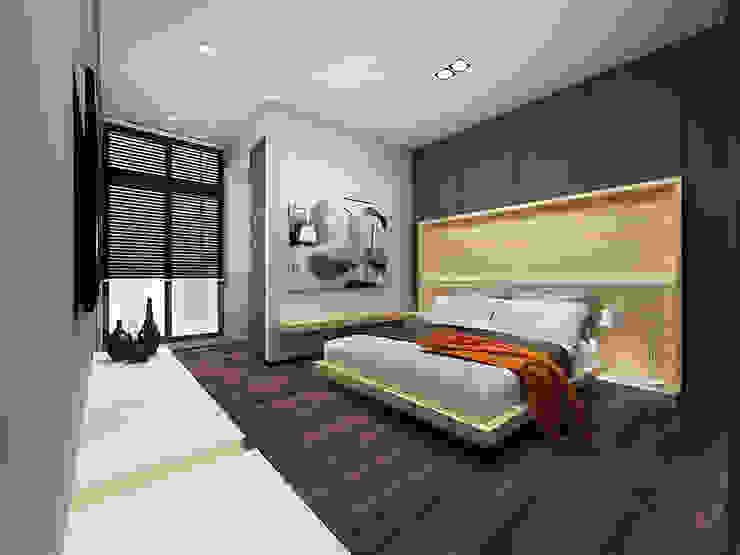 臥室4 根據 竹村空間 Zhucun Design 現代風