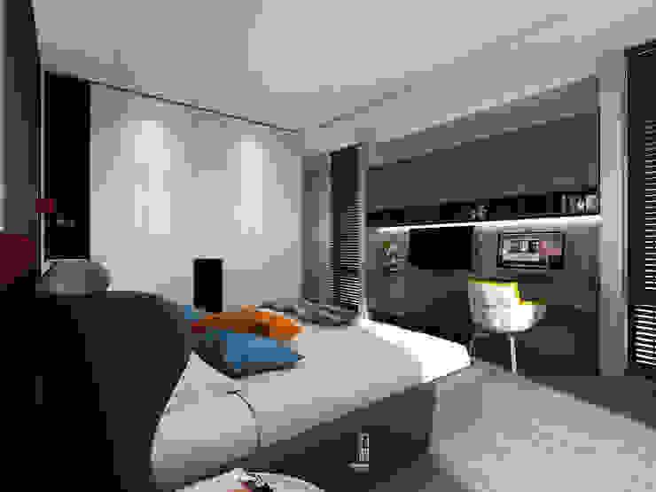 臥室6另一視角 根據 竹村空間 Zhucun Design 現代風