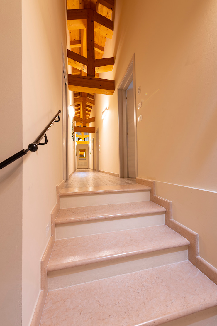 Quintarelli Pietre e Marmi Srl Stairs Stone Pink