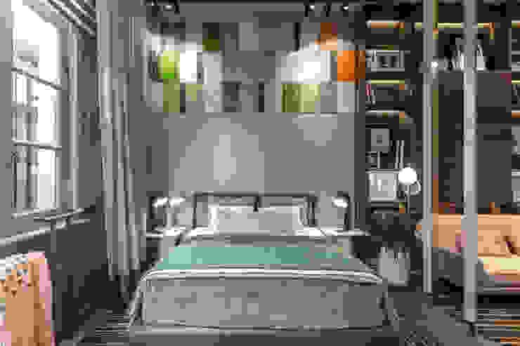 Casa FOA 2018 Estudio Viviana Melamed Dormitorios pequeños Madera Gris