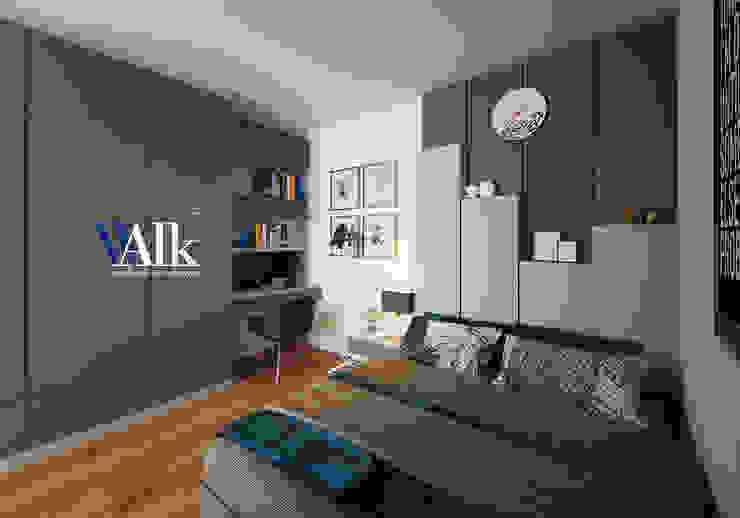 bedroom: ทันสมัย  โดย walkinterior , โมเดิร์น แผ่นไม้อัด