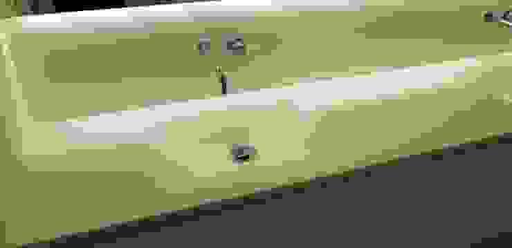 INNOBANYS solid surface Modern bathroom White