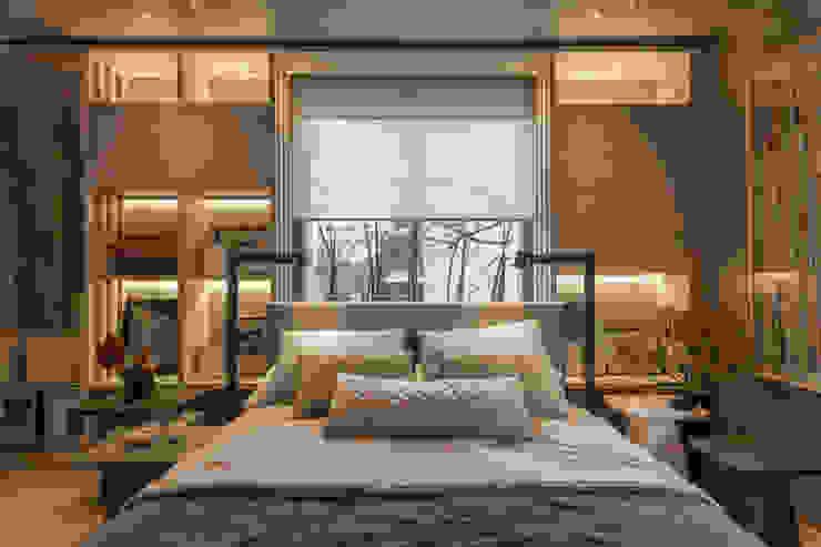 Casa FOA 2017 Estudio Viviana Melamed Dormitorios modernos: Ideas, imágenes y decoración Beige