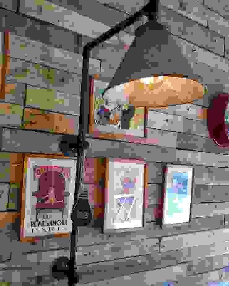 Lamparas Vintage Vieja Eddie Living roomLighting Iron/Steel Grey