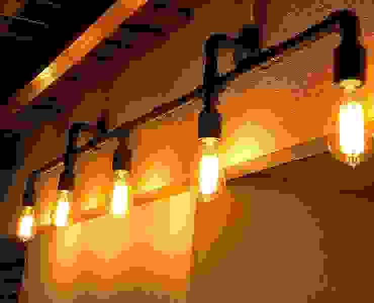 Lamparas Vintage Vieja Eddie Corridor, hallway & stairs Lighting Iron/Steel Black