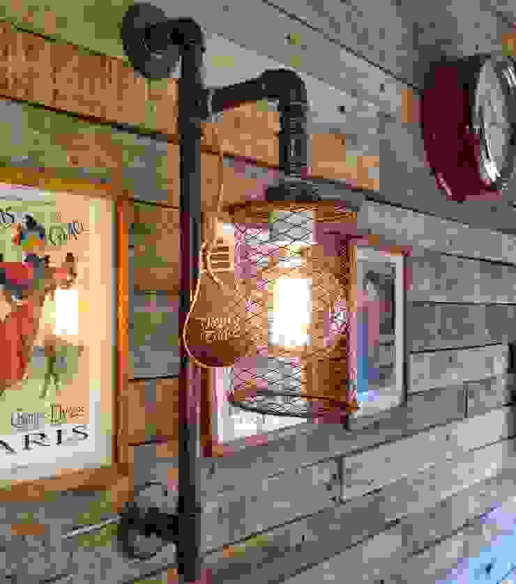 Lamparas Vintage Vieja Eddie Walls & flooringWall tattoos Iron/Steel Amber/Gold