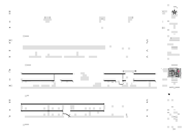 Cortes y fachadas del proyecto laboratorio Univalle Paredes y pisos de estilo clásico de JV RVT Clásico Ladrillos