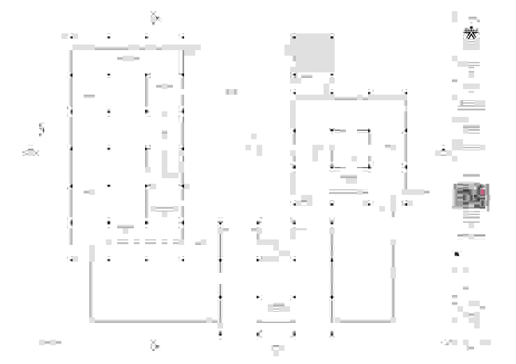 1er. piso del proyecto laboratorio Univalle de JV RVT Clásico Ladrillos