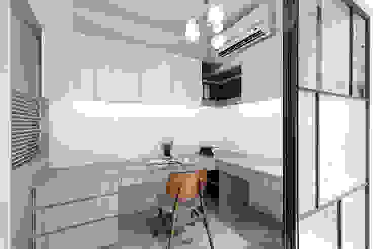 WANG House 元作空間設計 書房/辦公室