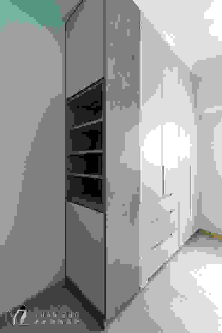 衣櫥側邊收納 元作空間設計 小臥室