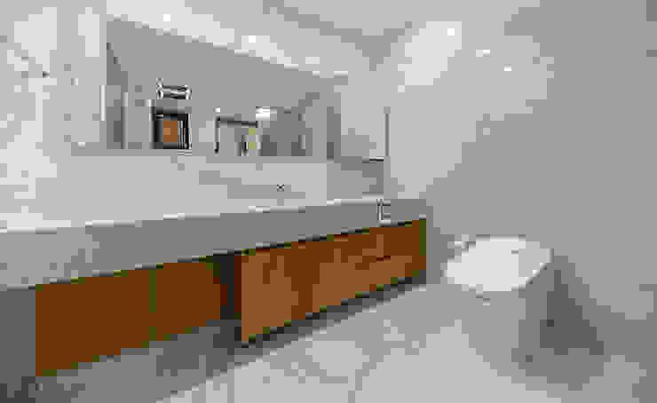 Modern bathroom by 더존하우징 Modern