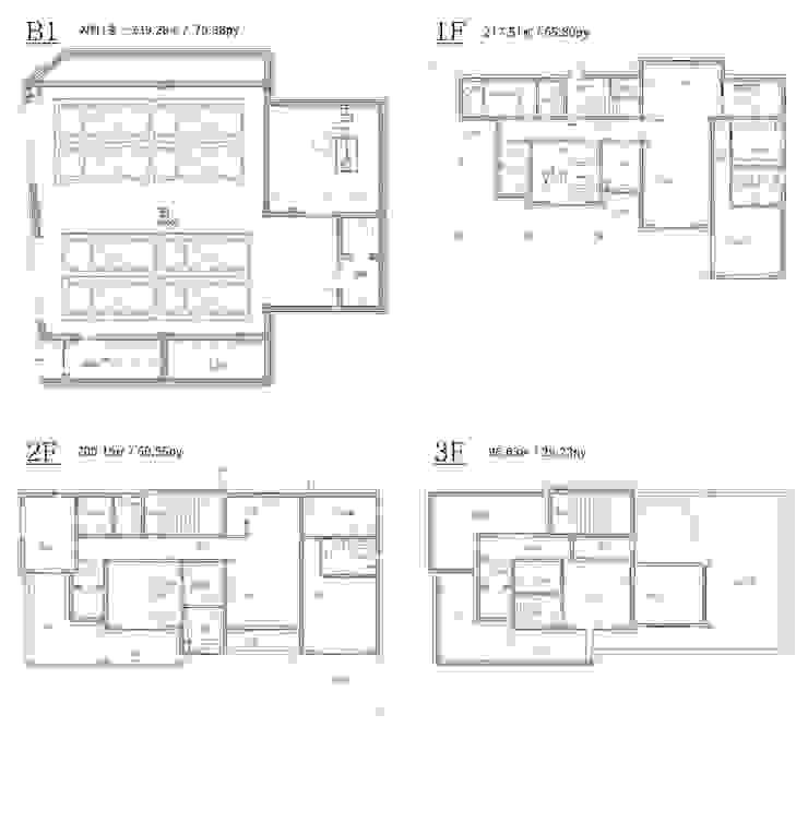 설계 도면: 더존하우징의 현대 ,모던