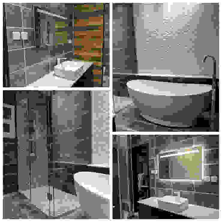 Baños de estilo moderno de FN Design Moderno
