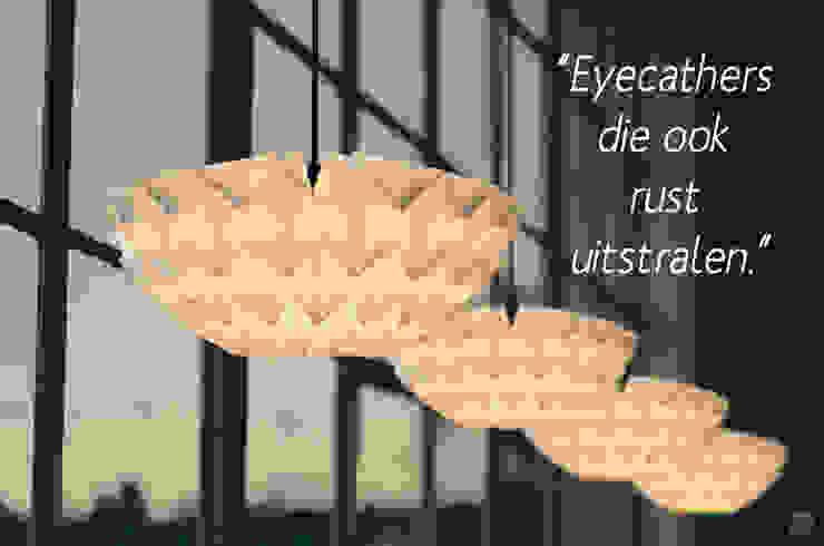 Lampen die licht én sfeer uitstralen van Danielle Origami Lampen Minimalistisch Papier