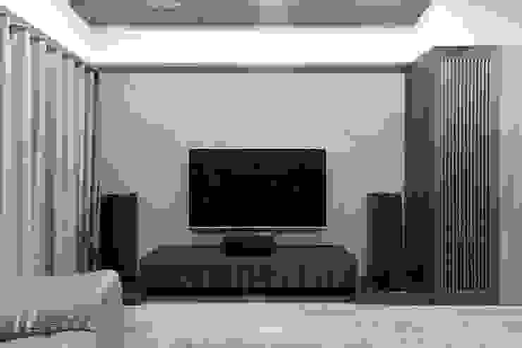 CHEN House‧擁樂 现代客厅設計點子、靈感 & 圖片 根據 元作空間設計 現代風