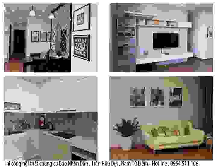 Báo giá thiết kế nội thất chung cư tại Xline bởi NỘI THẤT XLINE Hiện đại Đá hoa