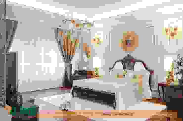 Báo giá thiết kế nội thất chung cư tại Xline Phòng ngủ phong cách hiện đại bởi NỘI THẤT XLINE Hiện đại