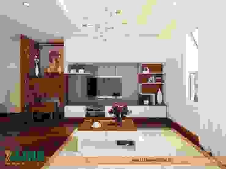 Báo giá thiết kế nội thất chung cư tại Xline bởi NỘI THẤT XLINE Hiện đại