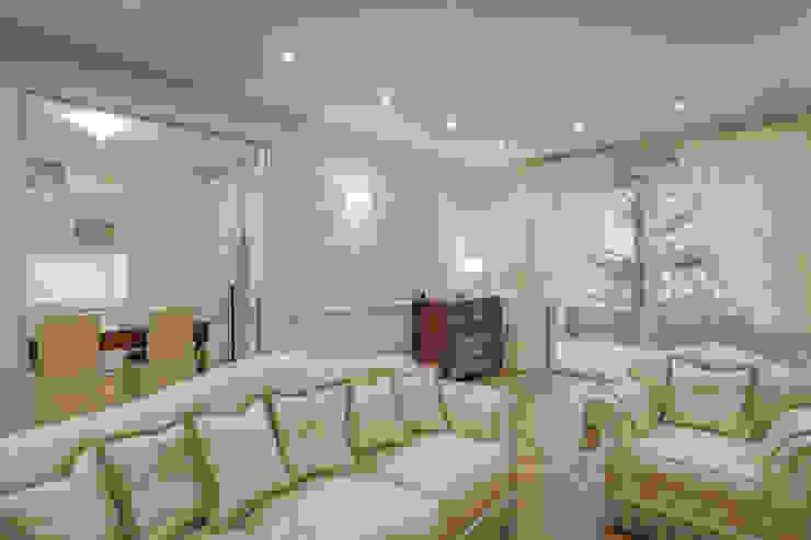 Quadrifamiliare <q>IL QUADRIFOGLIO</q> – Appartamento stile CLASSICO Soggiorno classico di 2P COSTRUZIONI srl Classico