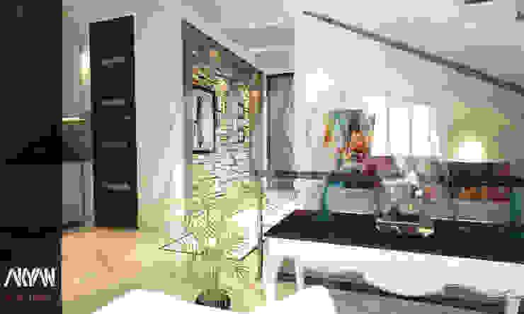 Paisajismo de interiores de estilo  por AKYAN