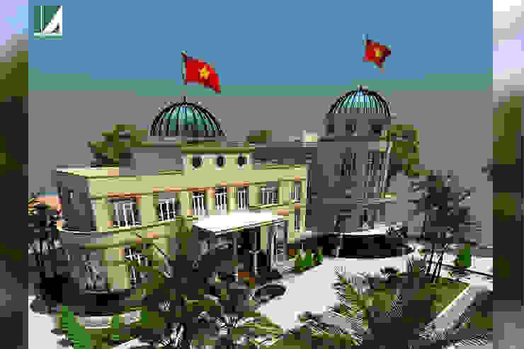 NHÀ KHÁCH - THANH PHỐ HẢI PHÒNG bởi Kiến trúc Việt Xanh