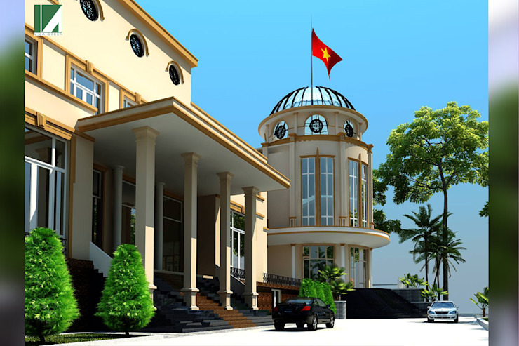 NHÀ KHÁCH – THANH PHỐ HẢI PHÒNG bởi Kiến trúc Việt Xanh