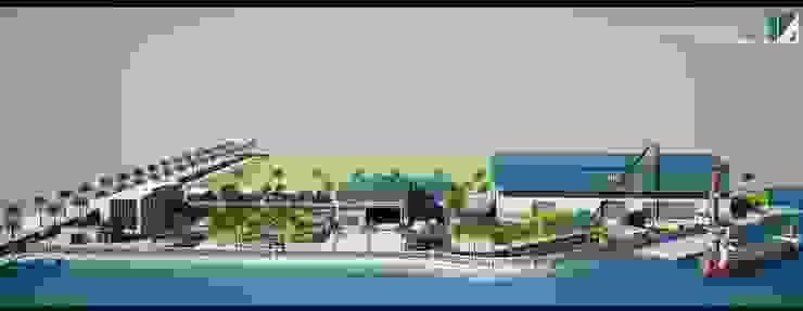 NHÀ XƯỞNG CÔNG NGHIỆP 4HA – HÙNG VƯƠNG – HẢI PHÒNG bởi Kiến trúc Việt Xanh
