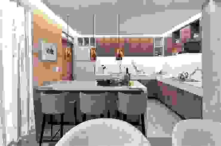 Cocina de MAS Arquitectos Moderno