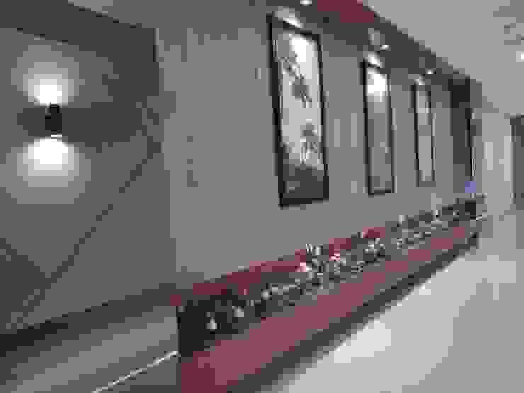 Interior Lobby Resepsionis Bandara City Apartment Oleh PT. PANCAR KREASI ABADI