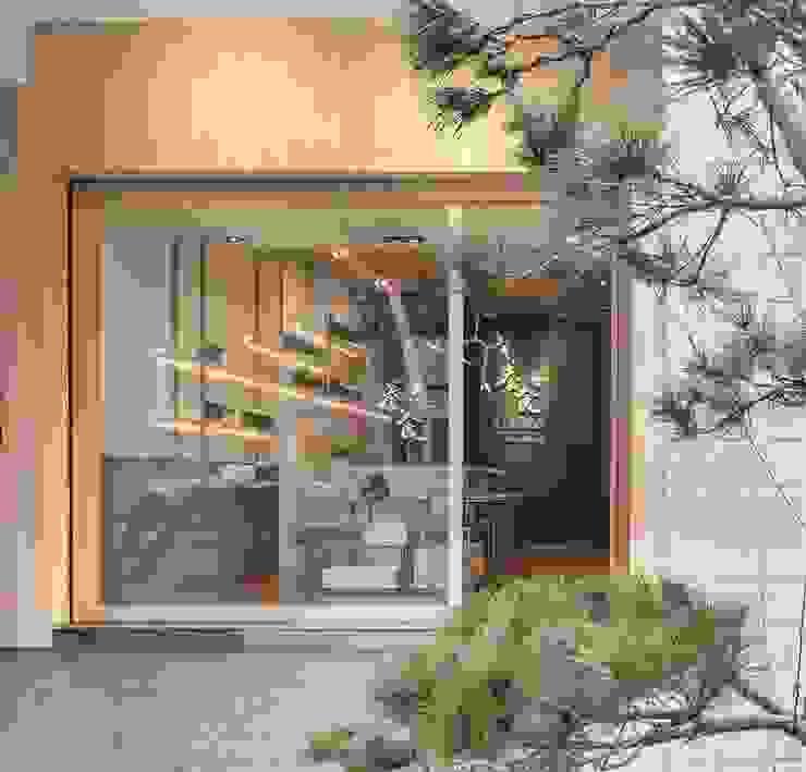 養食|Living-a-better-life Organic Grocery 理絲室內設計有限公司 Ris Interior Design Co., Ltd. 前門 木頭 Wood effect