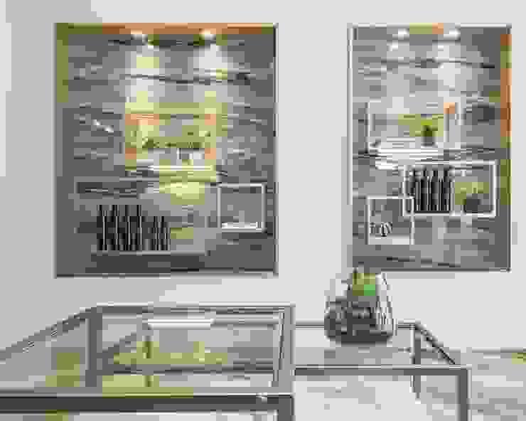 養食|Living-a-better-life Organic Grocery 理絲室內設計有限公司 Ris Interior Design Co., Ltd. 餐廳櫥櫃 木頭 Metallic/Silver