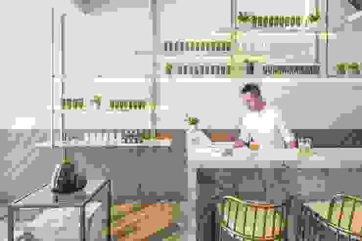 養食|Living-a-better-life Organic Grocery 理絲室內設計有限公司 Ris Interior Design Co., Ltd. 餐廳 塑木複合材料 Wood effect