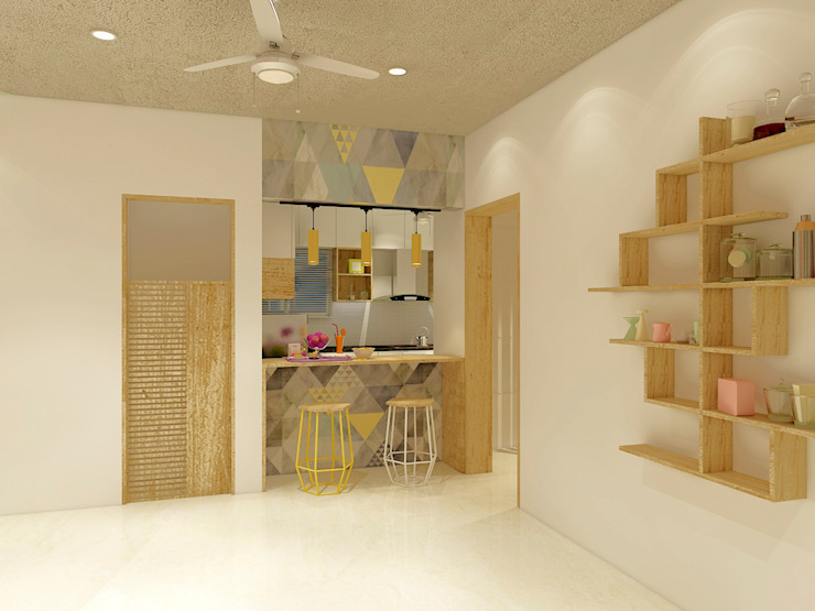 homify Modern Kitchen Wood effect
