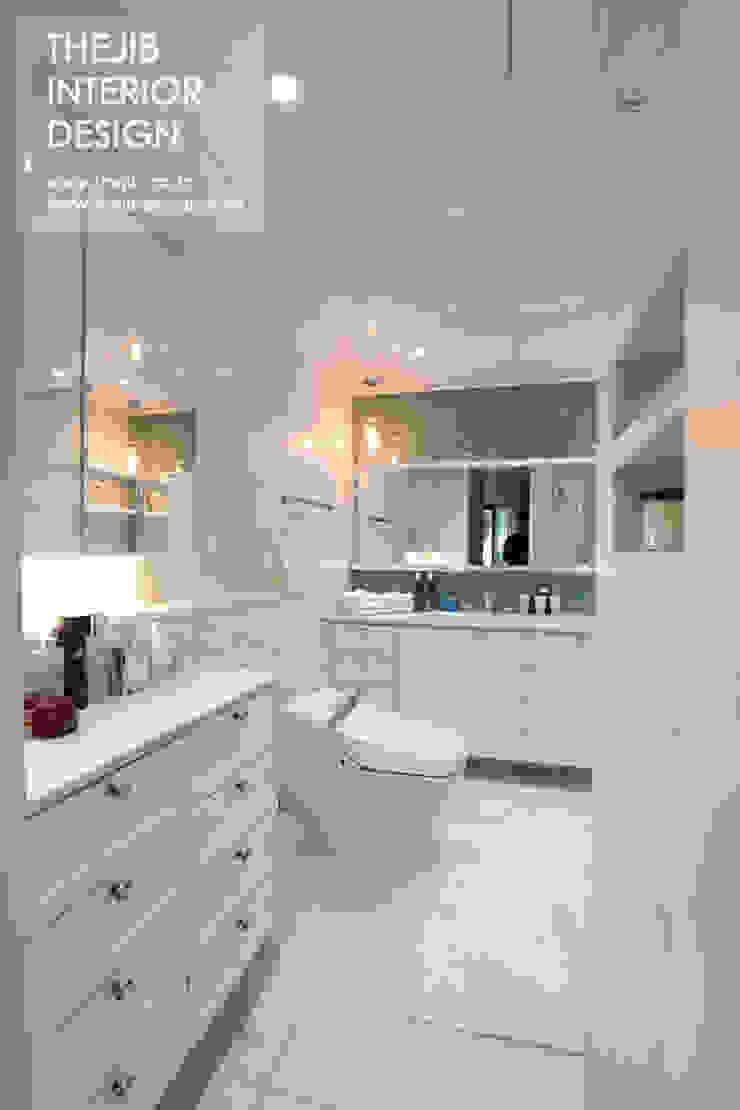 분당구 정자동 삼성 아데나루체 49평 아파트 인테리어 모던스타일 욕실 by 더집디자인 (THEJIB DESIGN) 모던