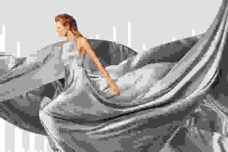 modern  by lifestyle-interior, Modern Textile Amber/Gold