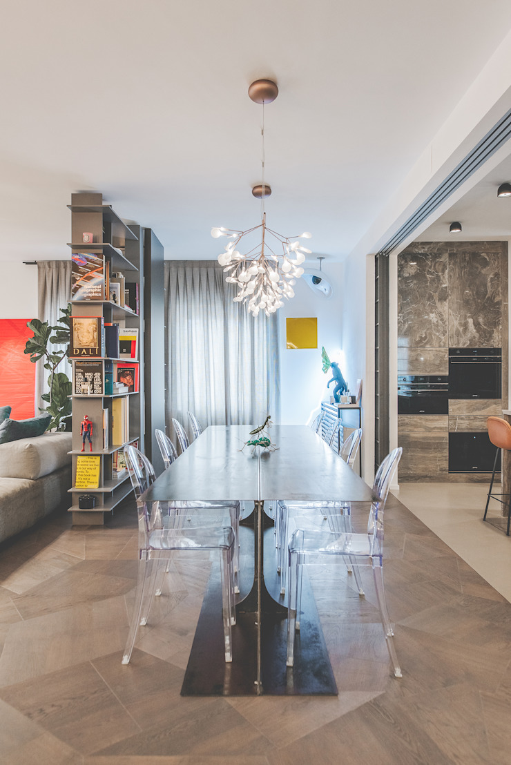 Pop House Eclectic style dining room by MODO Architettura Eclectic