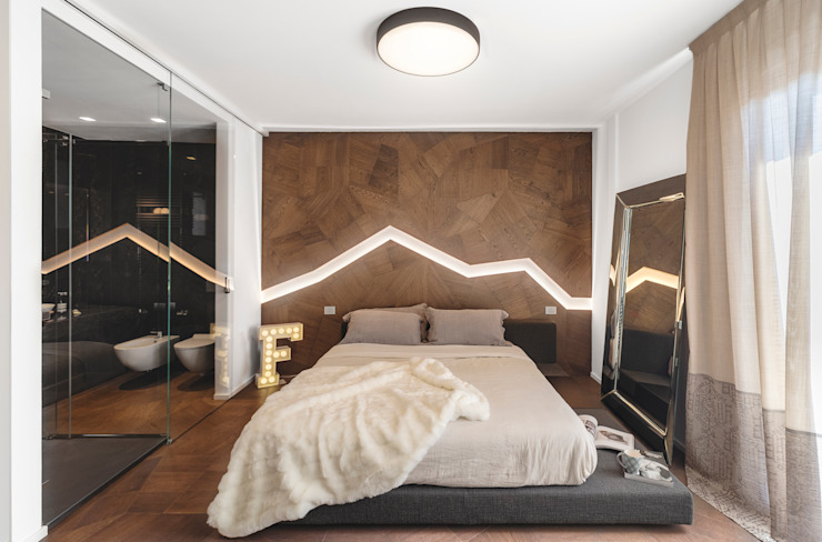 Pop House Eclectic style bedroom by MODO Architettura Eclectic