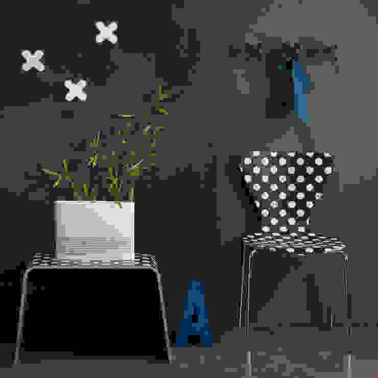 Creativando Srl - vendita on line oggetti design e complementi d'arredo ระเบียงและโถงทางเดิน แผ่น MDF Black