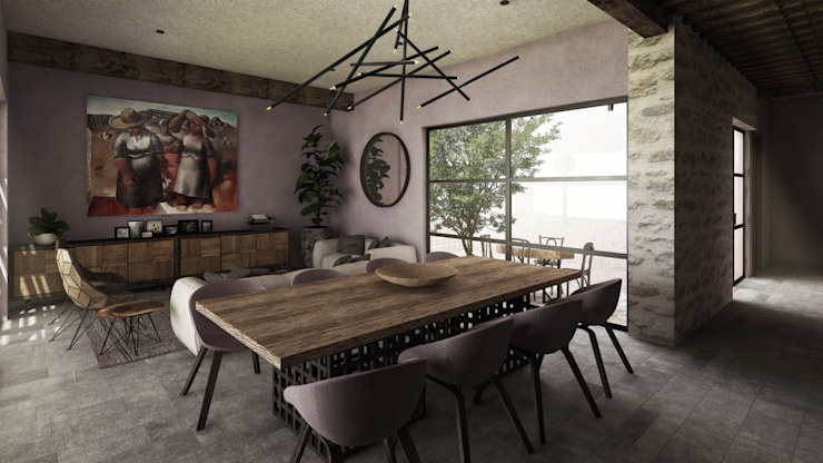 by Mouret Arquitectura Рустiк