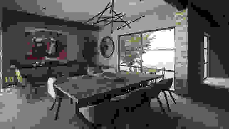 Їдальня by Mouret Arquitectura,