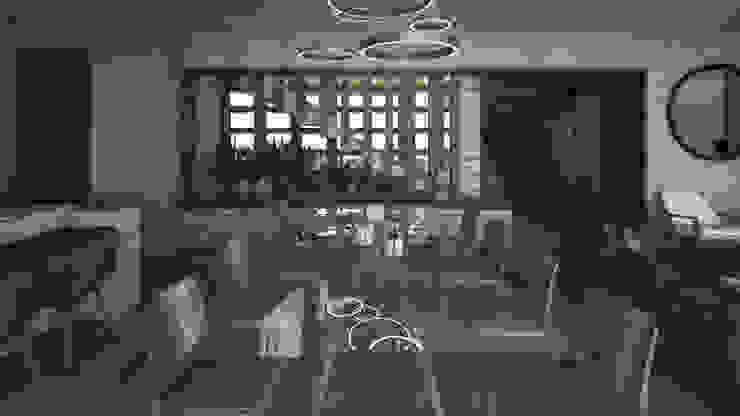 SAHAI UBAK Mouret Arquitectura Comedores rústicos