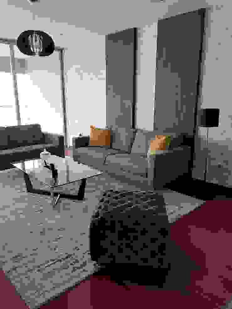 现代客厅設計點子、靈感 & 圖片 根據 Alicia Ibáñez Interior Design 現代風