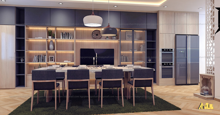 Dining room by AcilB Design,