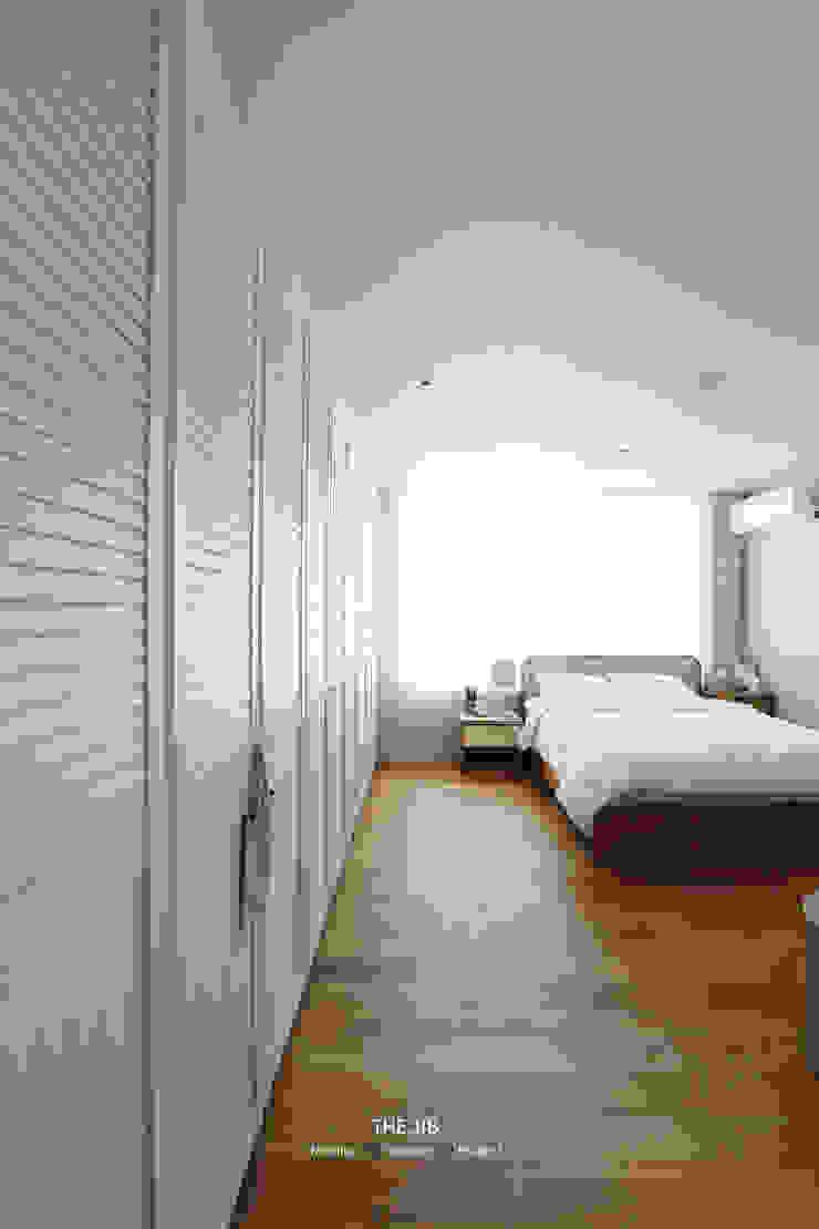 송파구 장지동 파인타운 33평 아파트 인테리어 스칸디나비아 침실 by 더집디자인 (THEJIB DESIGN) 북유럽