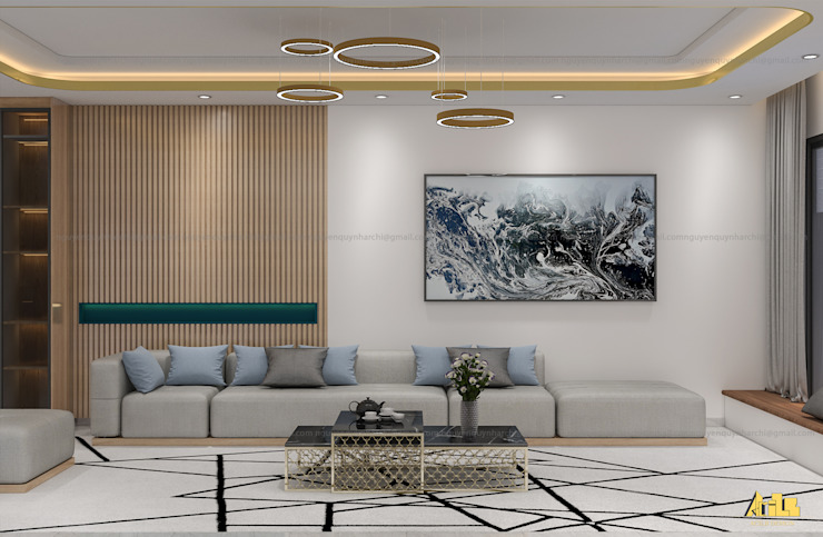nội thất biệt thự phố Q2 bởi AcilB Design Hiện đại