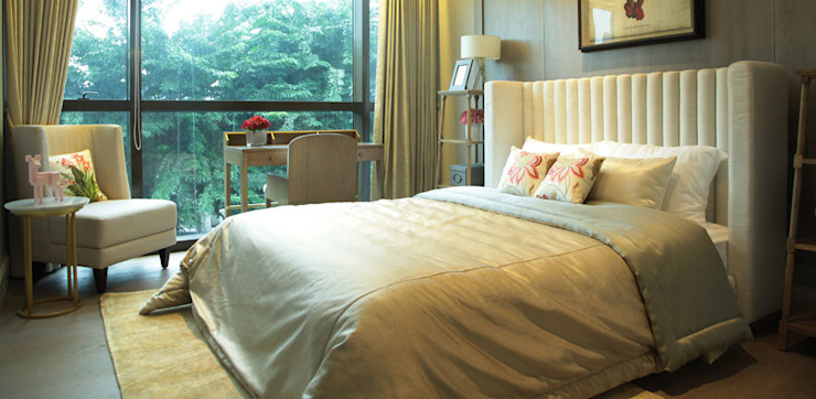 1 PARK AVENUE Oleh PT Graha Vilato Kreasindo Minimalis Tekstil Amber/Gold