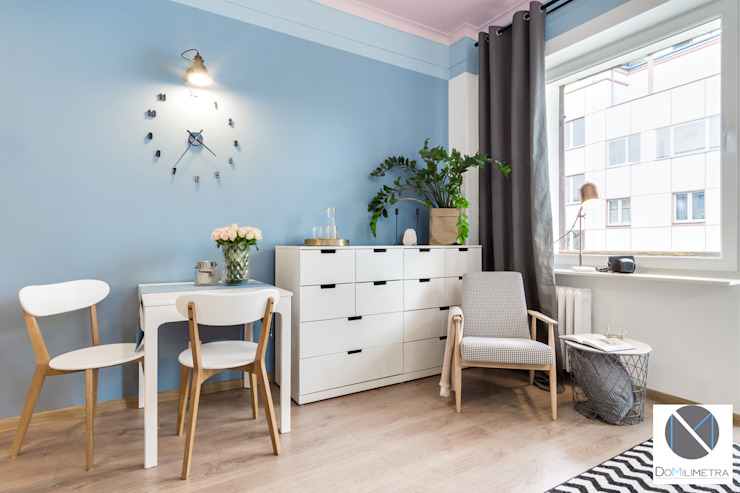 Scandinavian style dining room by DoMilimetra Scandinavian