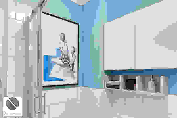 Industrial style bathroom by DoMilimetra Industrial