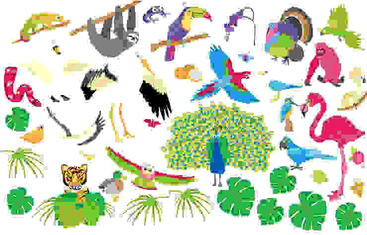 Birds ab-design GmbH Kinderzimmer Mädchen